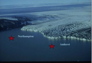 Visualization of Northampton and Amherst Under Lake Hitchcock. UMass, NE Friends of Pleistocene Conf. 2000