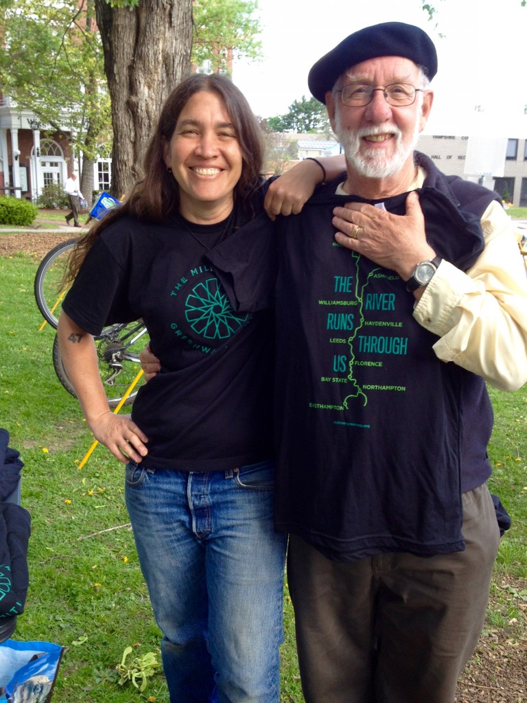 Gaby and John with the new MRGI t-shirt 5.13.15