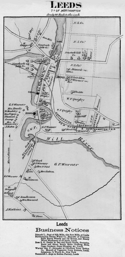 1873 Leeds (Beers Map)