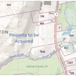 City of Northampton's properties it acquired for Beaver Brook Cons. area